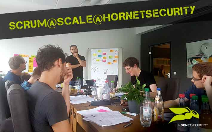 Scrum@Scale™@Hornetsecurity