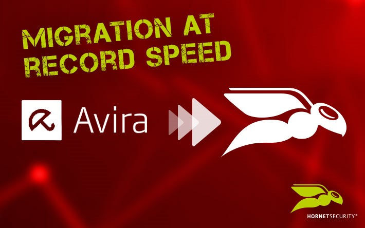 Avira migration in record time
