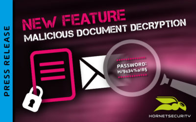 Hornetsecurity releases new feature for protection against encrypted malware attachments