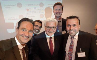 Präsidialer Besuch beim High-Tech Gründerfonds – Wir waren dabei!