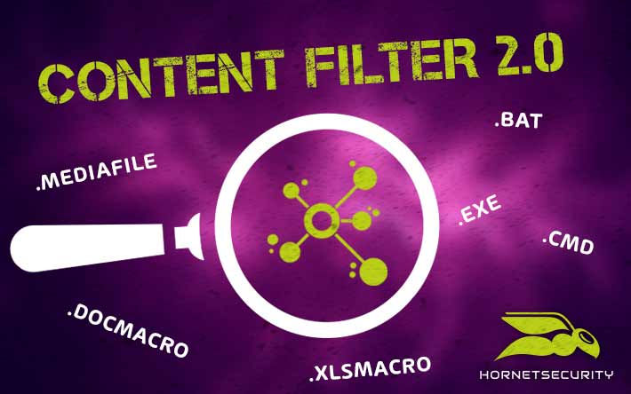 CONTENT FILTER 2.0 – The security officer for your data transfer