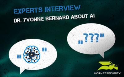 Experts interview: Dr. Yvonne Bernard about Artificial Intelligence
