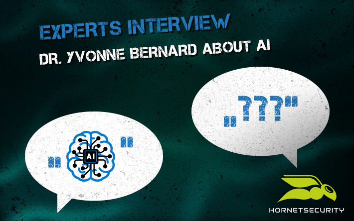 Experts interview: Dr. Yvonne Bernard about Artificial Intelligence