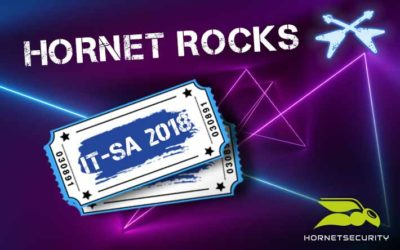 Hornetsecurity rocks at it-sa 2018