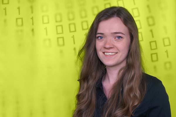 Azubis stellen sich vor: Jennifer, Fachinformatikerin für Anwendungsentwicklung
