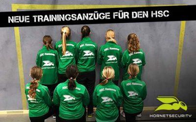 Brandneue Trainingsanzüge für Fußball-Mädchen des HSC