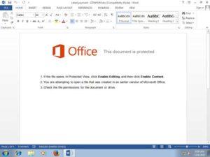 Betrugsversuch durch gefälschte Officeanweisung