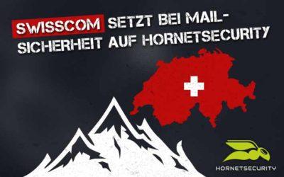 Swisscom setzt bei Mail-Sicherheit auf Hornetsecurity