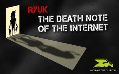 The Allegedly  Ryuk Ransomware builder  #RyukJoke...