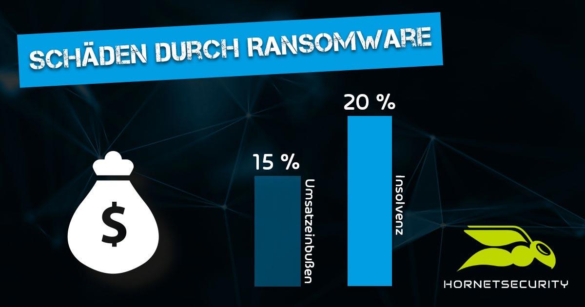 Schäden durch Ransomware
