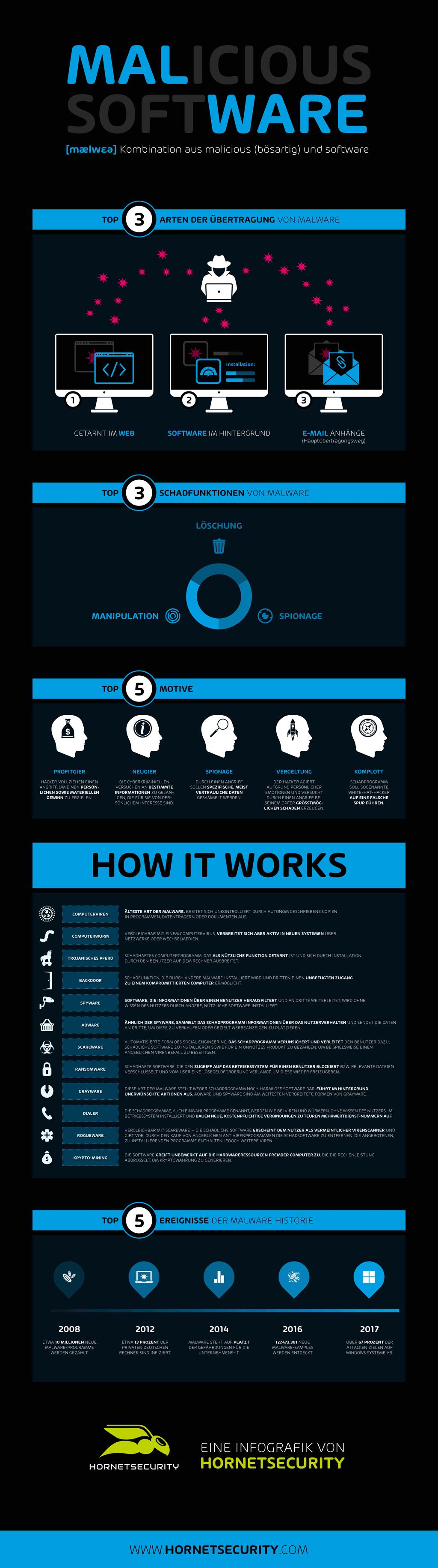 Malware Infografik