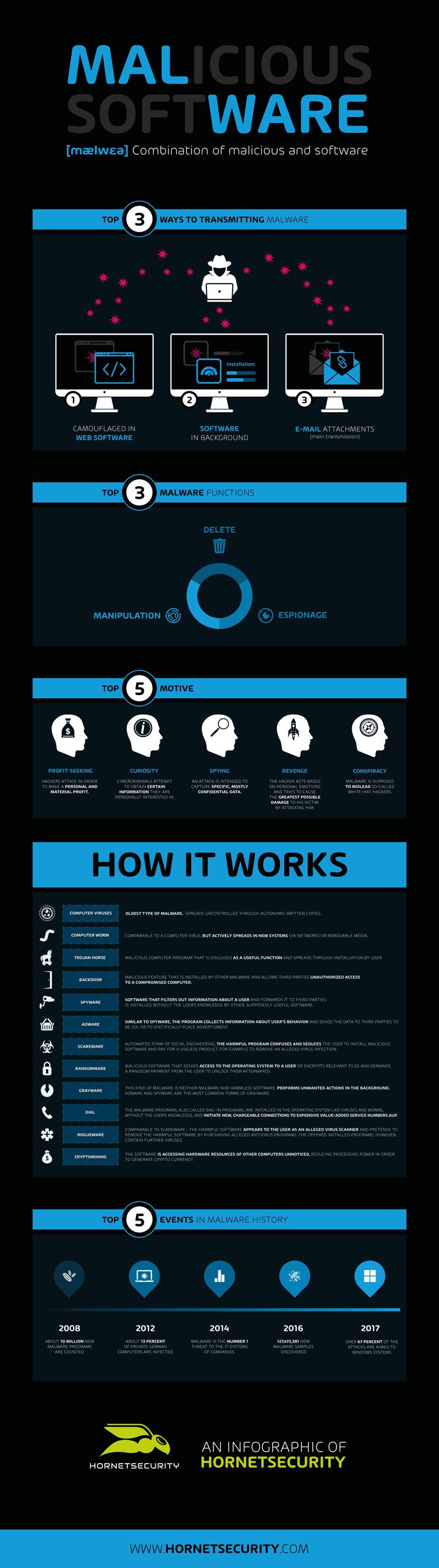 Infographic Malware