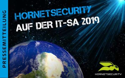 Ich will Cloud – Hornetsecurity auf der it-sa 2019