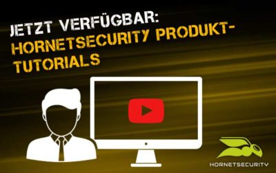 Einfaches Onboarding der Hornetsecurity Services: Produkt-Schulung per Trainingsvideo