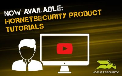 Simple onboarding of the Hornetsecurity Services: Video tutorial for product training