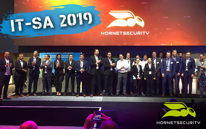 it-sa 2019: Hornetsecurity creates new perspectives for email security