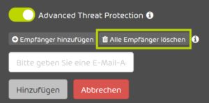 Handbuch zum Control Panel