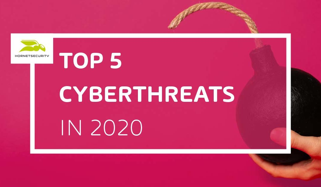 Top 5 Cyberthreats expected in 2020