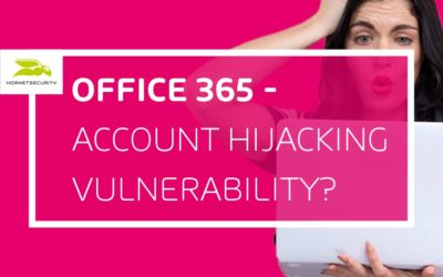 Office 365- is 'Account Hijacking' the number 1 security risk?