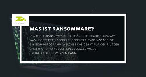Was ist Ransomware? Alle Informationen über Ransomware