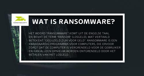 Wat is Ransomware - Definitie