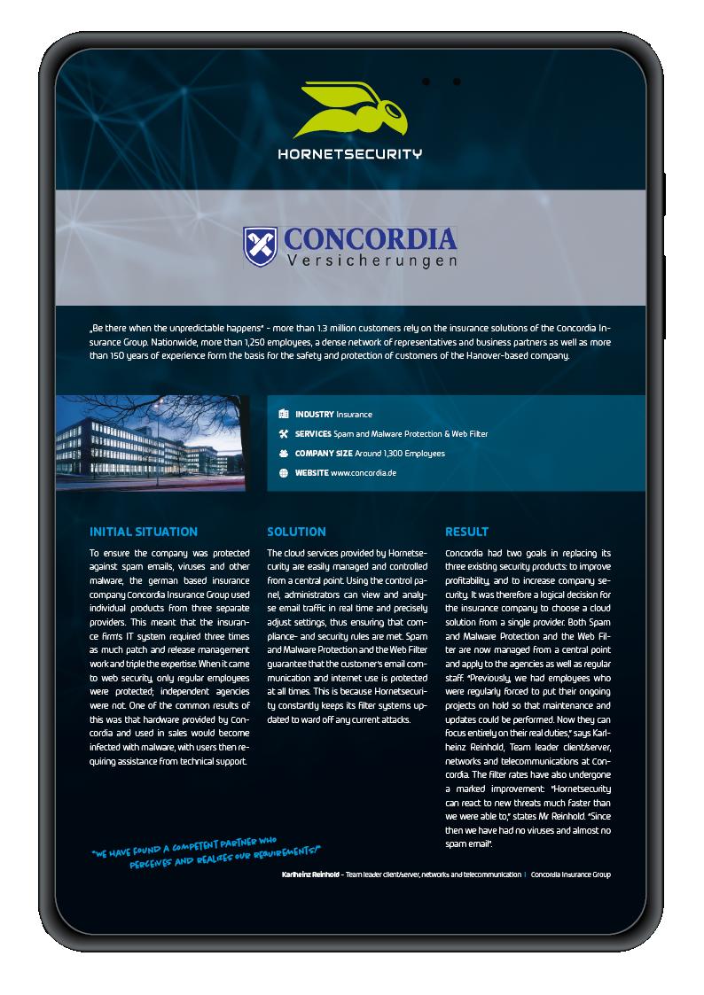 Case Study Concordia