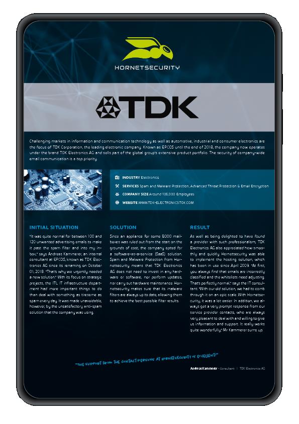 Case Study TDK