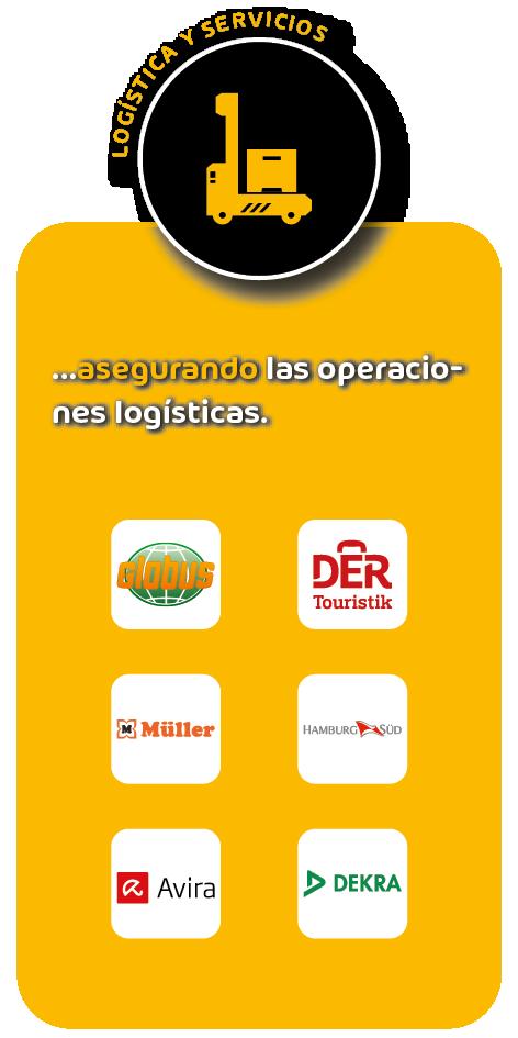 Referencias sector logístico y servicios