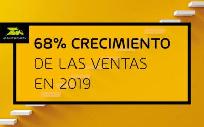Bien preparados para 2020: Hornetsecurity reporta un crecimiento de ingresos del 68% en 2019