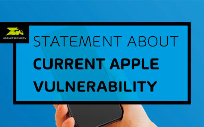 Hornetsecurity analyses security gap in Apple's standard email app
