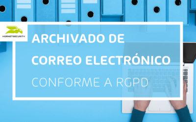 Cuidado con el archivado de correos electrónicos: muchos servicios no son compatibles con RGPD