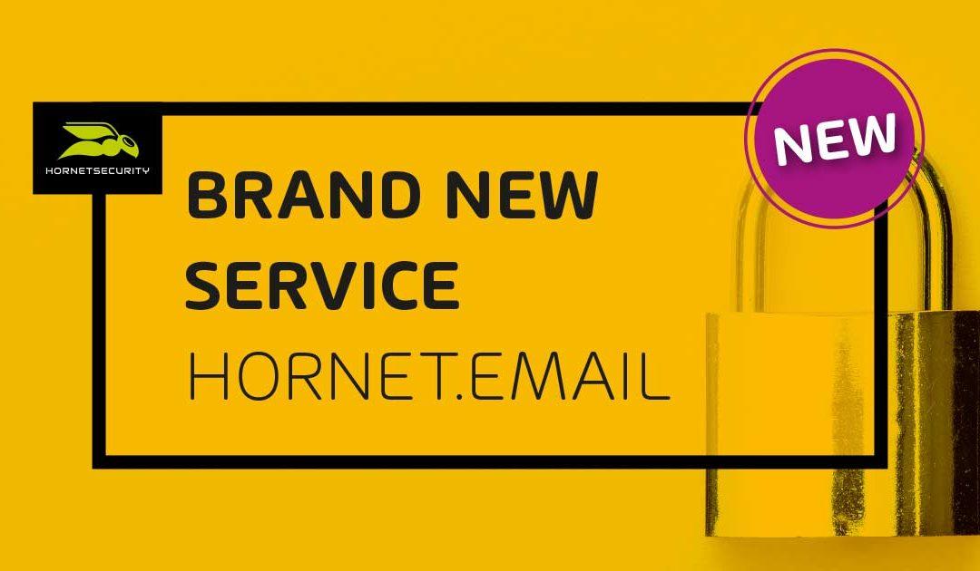 Neuer Service: Hornetsecurity launcht Hornet.email