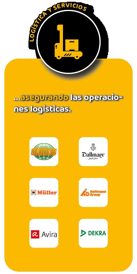 Clientes  del sector logística y servicios