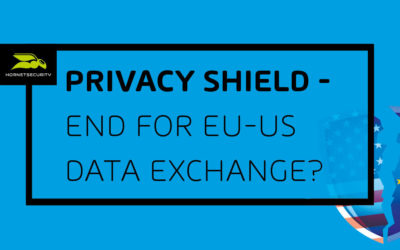 Privacy Shield: The end of transatlantic data exchange?