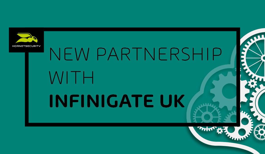 Hornetsecurity verkündet neue Partnerschaft mit Infinigate UK