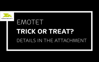 Emotet Inviting Friends to your Halloween Extravaganza