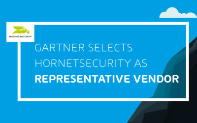 EMAIL SECURITY MARKET GUIDE  : HORNETSECURITY DANS L'EDITION 2020