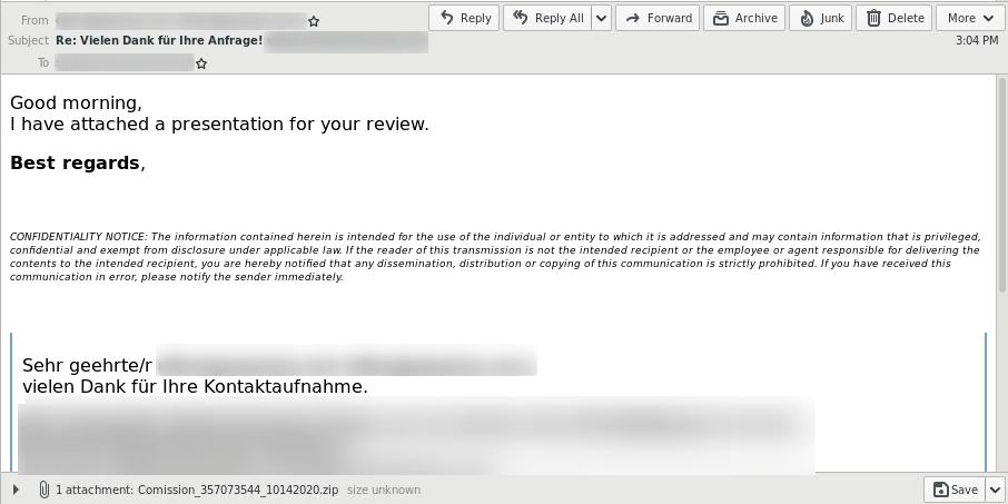 Screenshot_email_QakbotXLM-Makro