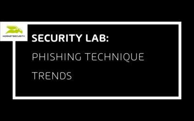 Phishing Technique Trends