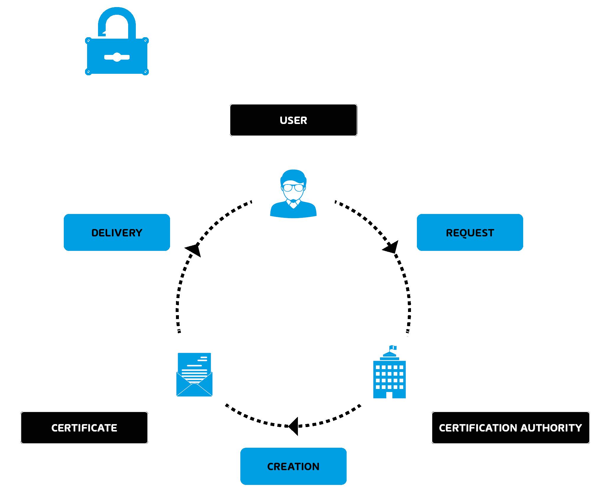 Infografía sobre S/MIME