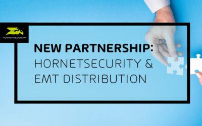 Hornetsecurity verkündet neue Partnerschaft mit emt Distribution