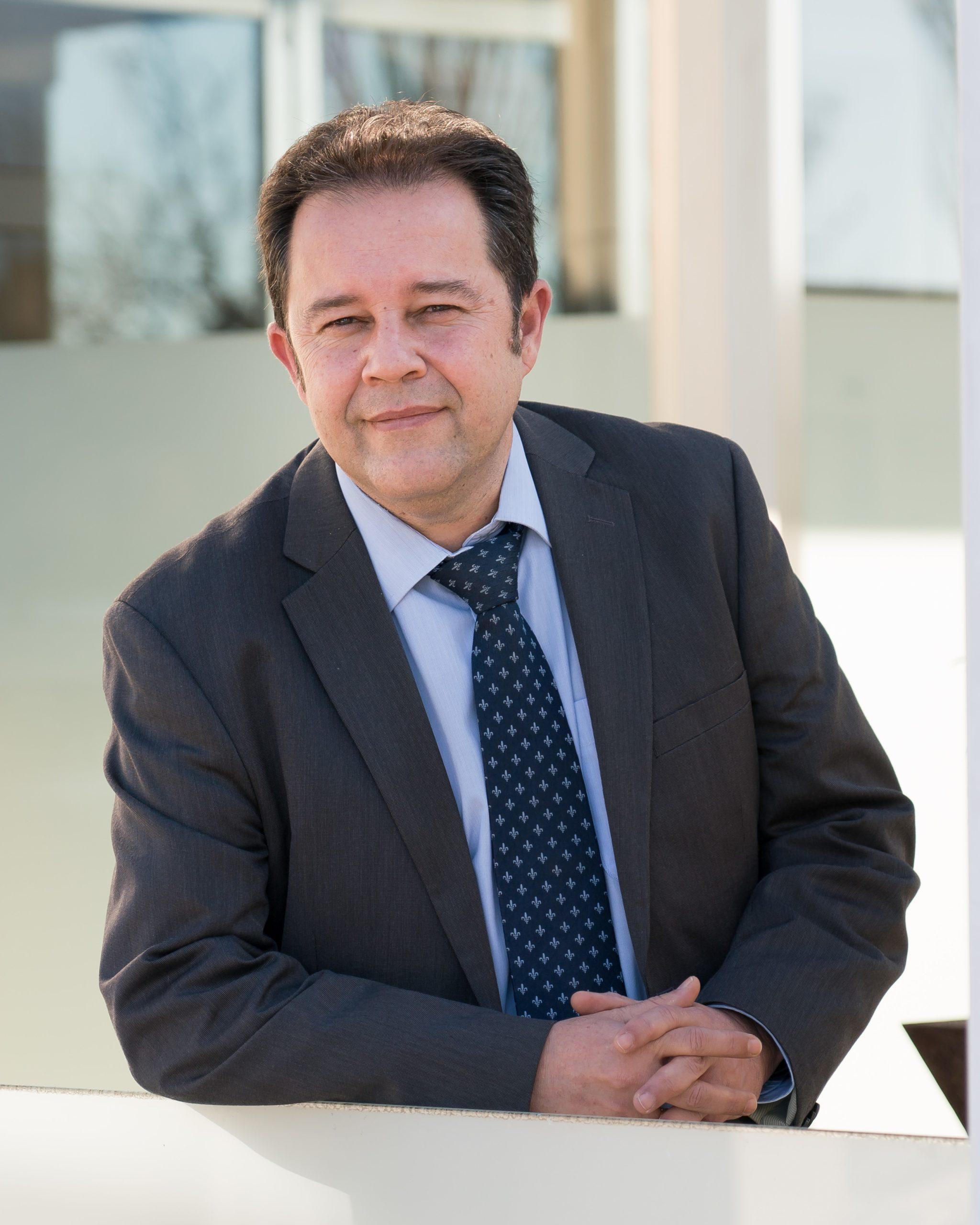 Foto Alberto López, director de la División de Seguridad en V-Valley