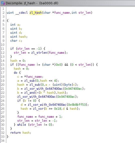 Zloader kev MHTML campaign Zloader function hash