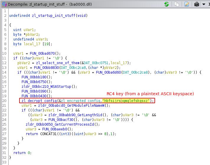 Zloader kev MHTML campaign Zloader config decode