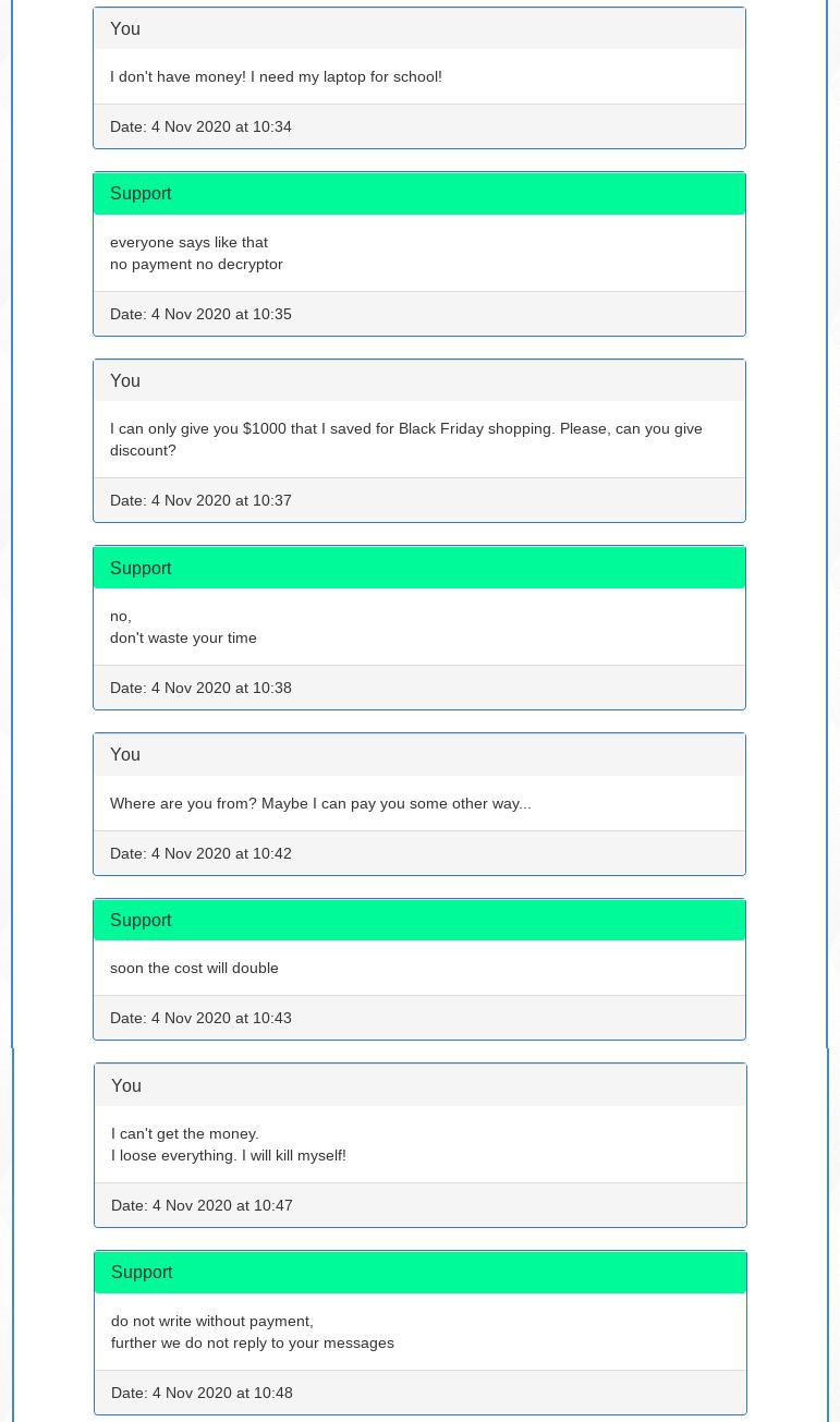 Adhubllka ransomware offers no negotiation