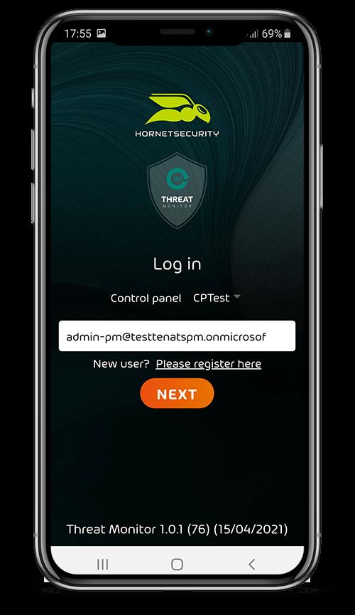 365 Threat Monitor login