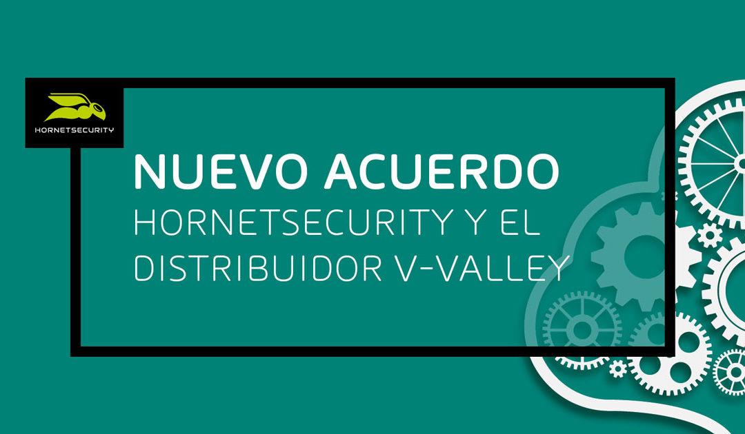 V-Valley nuevo distribuidor de Hornetsecurity Iberia