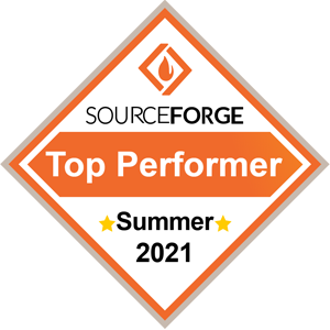Sourceforge Top Performer Summer 2021